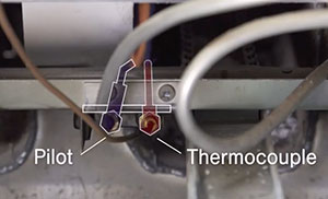 thermocouple malfunctioning